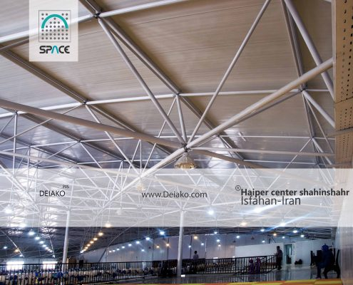 معماری داخلی سازه فضایی