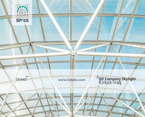 skylight space frame