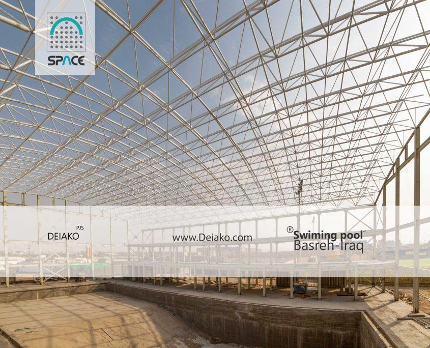 شهلایی سقف سازه فضاکار قوسی عراق بصره