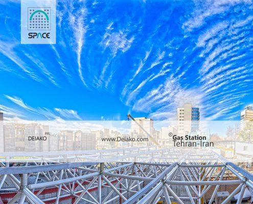قیمت سقف سازه فضاکار تخت