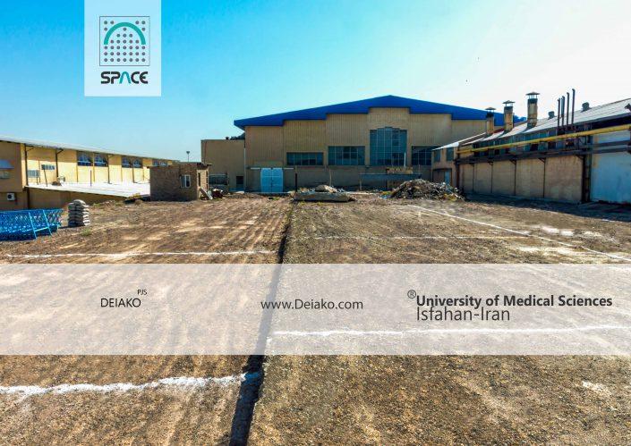 احداث پروژه سازه فضایی دانشگاه اصفهان